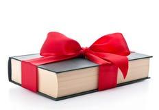 Gift verpakt boek Royalty-vrije Stock Foto's