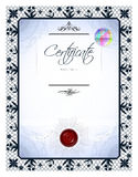 Gift vintage certificate Royalty Free Stock Photos