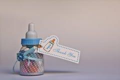 Gift voor babydouche stock afbeeldingen