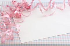 Gift voor babymeisje Royalty-vrije Stock Foto
