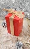 Gift voor Kerstmis Royalty-vrije Stock Foto's