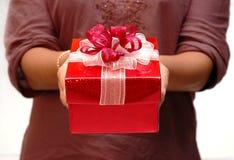 Gift voor u stock afbeelding