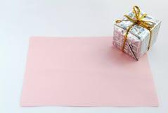 Gift voor u 1 stock fotografie