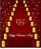 Gift voor valentijnskaartendag Royalty-vrije Stock Afbeeldingen