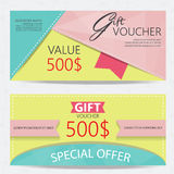 Gift voucher Royalty Free Stock Photography