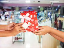 ้gift voucher for customer Royalty Free Stock Images