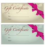 Gift Voucher Stock Photography