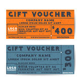 Gift voucher Royalty Free Stock Images