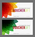 Gift Voucher Template Stock Images