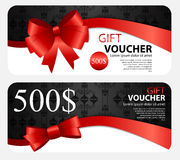 Gift Voucher Template For Your Business. Vector Illustration vector illustration