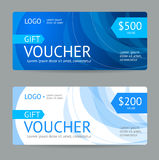 Gift Voucher. Vector Stock Photography