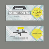 Gift voucher royalty free illustration