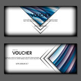 Gift voucher. Vector, illustration. Royalty Free Stock Images