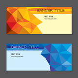 Gift voucher vector template design. With clean and modern pattern on grey background Stock Photo