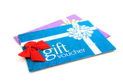 Gift vouchers Stock Image