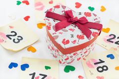 Gift waiting for the owner Royalty Free Stock Photos