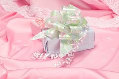 Gift for women Royalty Free Stock Image