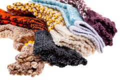 Gift woolen sock. Of the handjob binding Royalty Free Stock Photos
