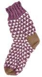 Gift woolen sock Stock Image