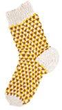 Gift woolen sock. Of the handjob binding Royalty Free Stock Images
