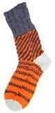 Gift woolen sock Royalty Free Stock Photos