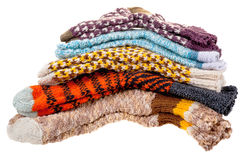 Gift woolen socks Stock Images