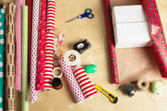 Gift_wrap1 стоковое изображение