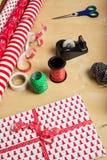 Gift_wrap2 Стоковое Изображение