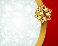 Gift wrap and bow background Royalty Free Stock Photos