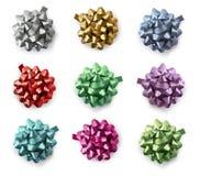 Gift wrap bows Royalty Free Stock Photo