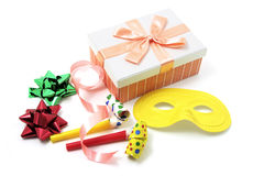 Gift Wrap Items and Party Favors Stock Images