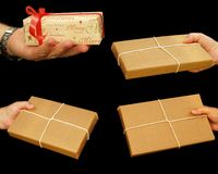 Gift wrapped Royalty Free Stock Photo