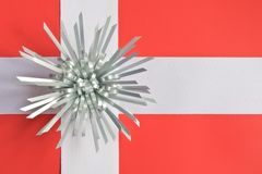 Gift-wrapped Denmark Royalty Free Stock Image