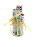 Gift-wrapped Money Stock Photos