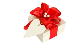 Gift Wrapped Present Royalty Free Stock Photography