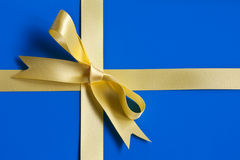 Gift-wrapped Sweden Stock Photo