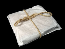 Gift wrapping. Made of ecologically clean products Royalty Free Stock Photography