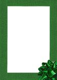 Gift wrapping bow and ribbon Royalty Free Stock Photos