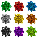 Gift Wrapping Bows Royalty Free Stock Image