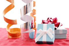 Gift Wrapping Fun Royalty Free Stock Image