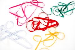 Gift Wrapping Items Royalty Free Stock Images