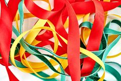 Gift Wrapping Items Royalty Free Stock Image