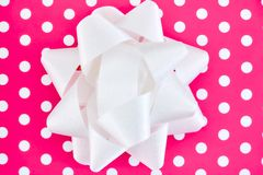 Gift Wrapping Items. A studio photo of gift wrapping items Royalty Free Stock Images