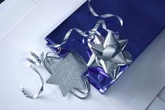 Gift wrappings Stock Images