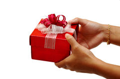 Gift for you Stock Photography