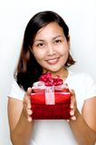 A gift for you! Royalty Free Stock Image