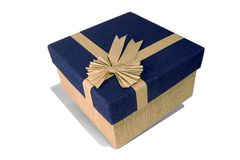 Gift for you. Gift box Royalty Free Stock Images