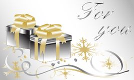 Gift for you Stock Photos