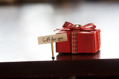 Gift for you concept Stock Image