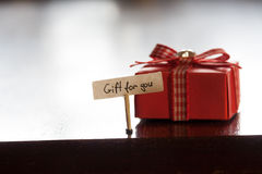 Gift for you concept Stock Photo